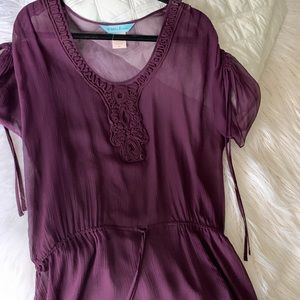 Purple blouse by Guess Marciano